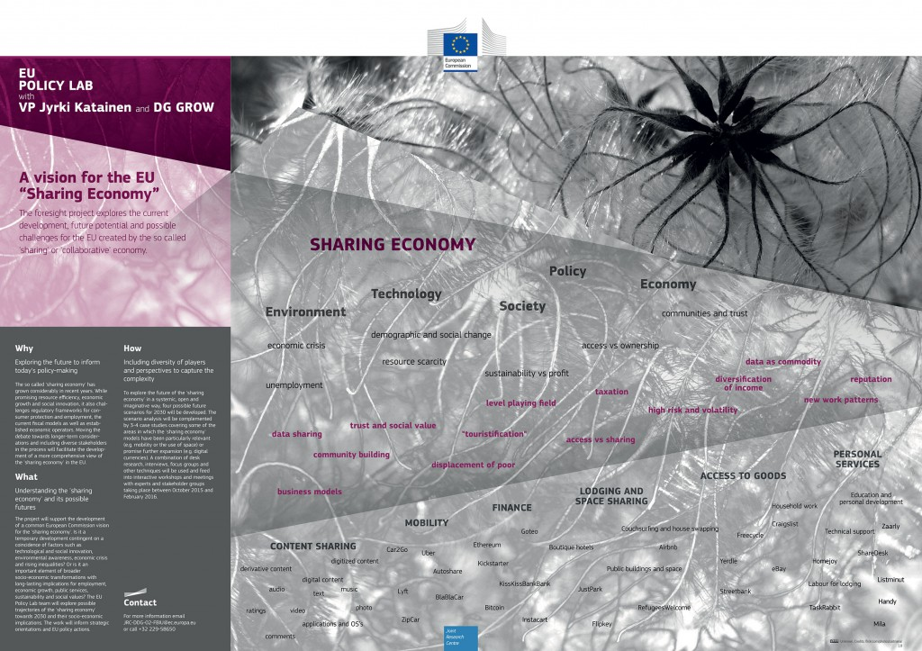 """A vision for the EU """"Sharing Economy"""""""