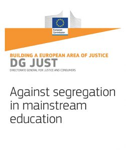 Against segregation in mainstream education