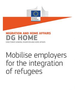 Mobilise employers for the integration of refugees