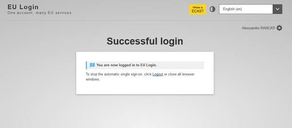 Make sure you are logged in