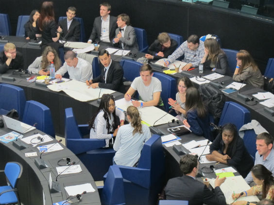 EYE 2014 was held at the European Parliament in Strasbourg, France