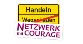 Network with courage